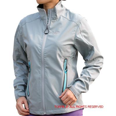 ミレー MILLET ウインドフリージャケット 女性用 オパールグレイ ユーロM(日本L)MIV3863