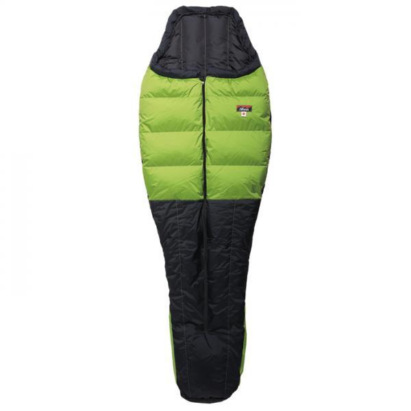 ナンガ シュラフ・寝袋 オーロラ 300 ライトグリーン/ブラック レギュラー