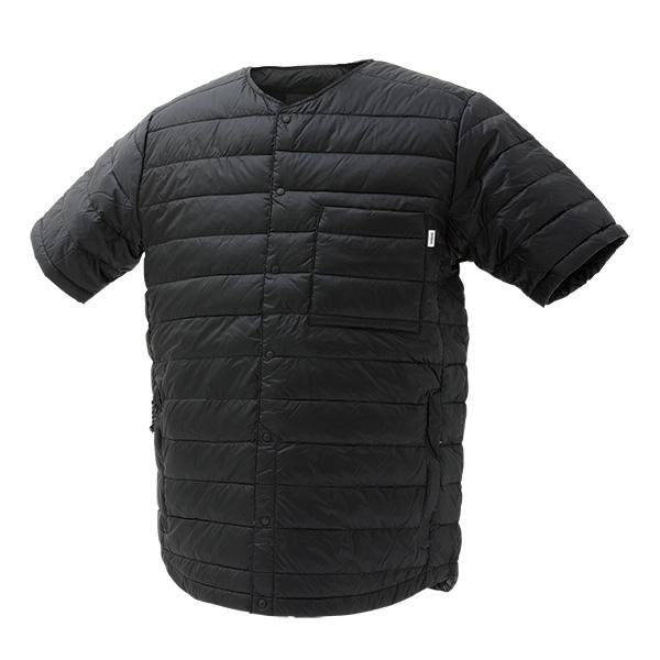 ナンガ NANGA ダウンTシャツ DOWN T-SHIRTS ブラック Sサイズ