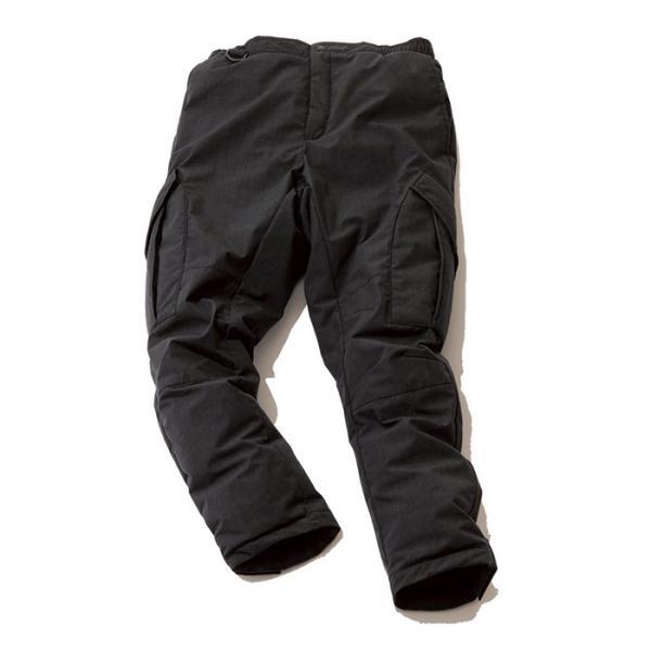 ナンガ 焚火ダウンパンツ TAKIBI DOWN PANTS チャコール Lサイズ
