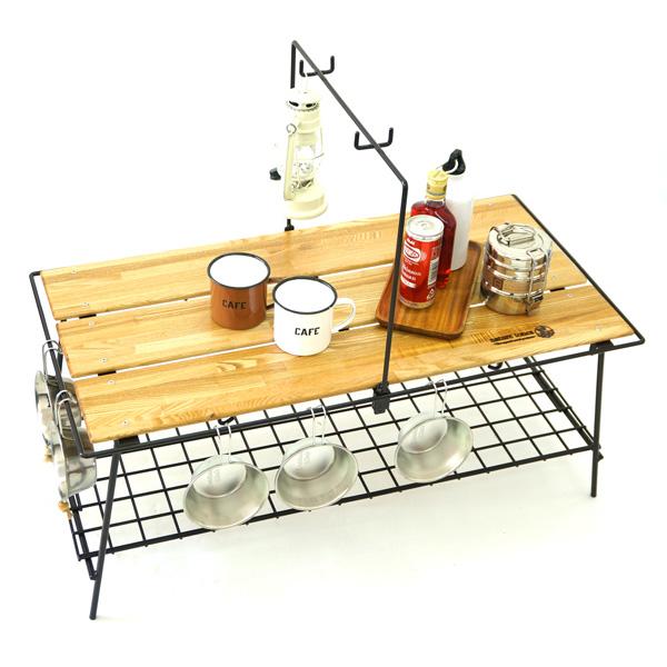 ネイチャートーンズ テーブル The Folding Cafe table ダークブラウン CA-DB