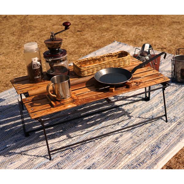 ネイチャートーンズ イージーピクニックテーブル Sサイズ ダークブラウン EPT-DB