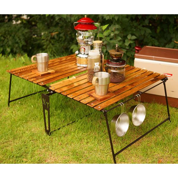 ネイチャートーンズ イージーピクニックテーブル Lサイズ ダークブラウン EPTL-DB