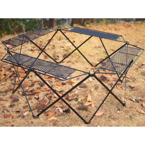 ネイチャートーンズ オクタゴンファイアテーブル本体(テーブルのみ)ブラック OCTFT-B