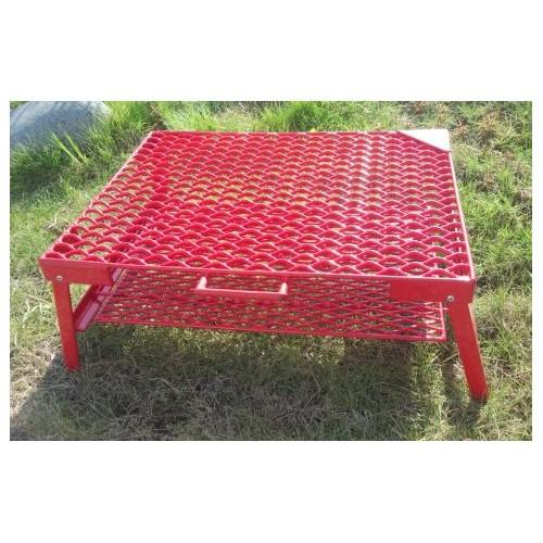 ネイチャートーンズ テーブル The Rhombus Mesh Table M ブライトレッド RM-M-R