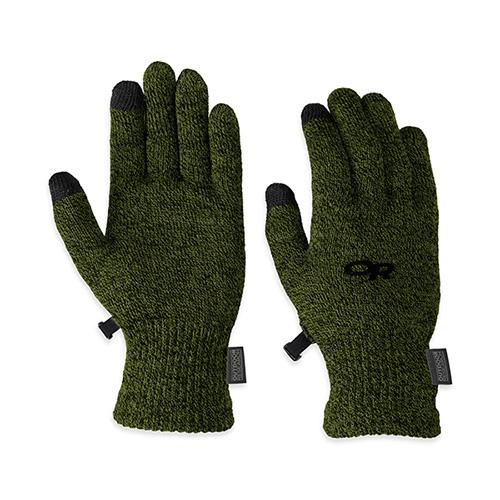 OR アウトドアリサーチ 手袋 Ms バイオセンサーライナーズ エバーグリーン Mサイズ 19497079064605
