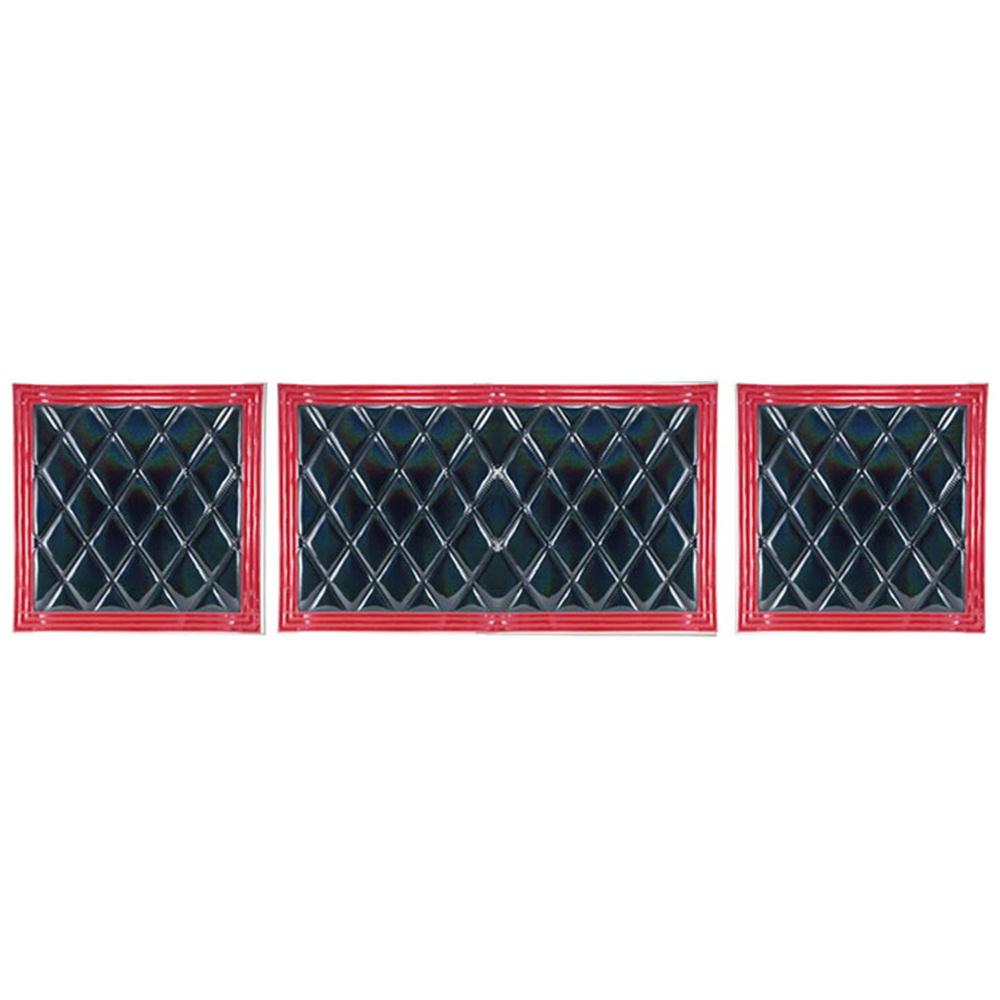 JET ウレタン入り泥除け 安い 激安 プチプラ 高品質 綺羅 きら 長たれ3分割 3枚 セット 激安通販 1枚 赤フチ 黒 1140×600 2枚 600×600 大型車用