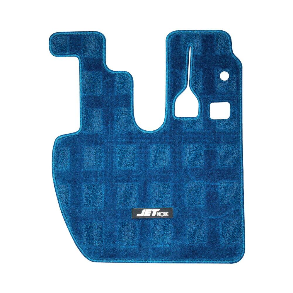 JET 市販 車種専用フロアマット 運転席用 ブルー セール品 NEW スーパーグレート 523267
