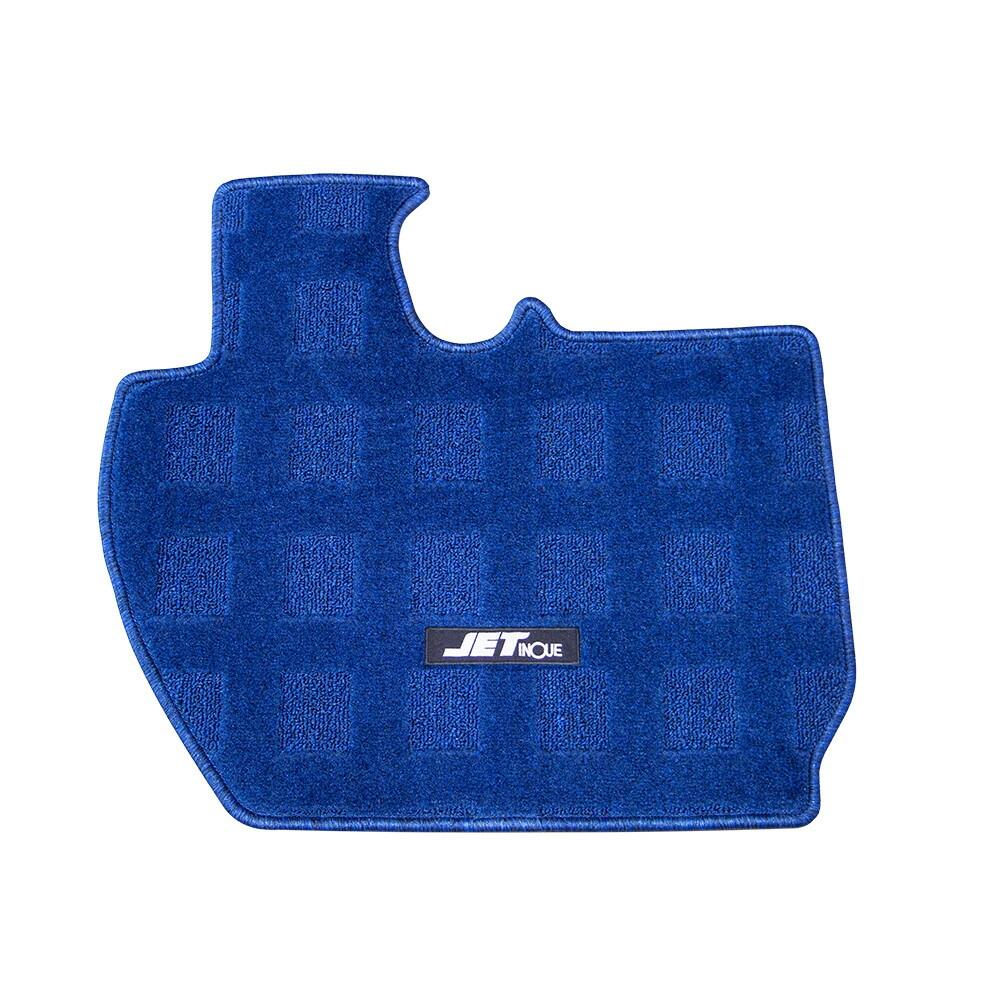 予約販売品 JET 車種専用フロアマット 運転席用 ブルー 17スーパーグレート 受注生産品 523203