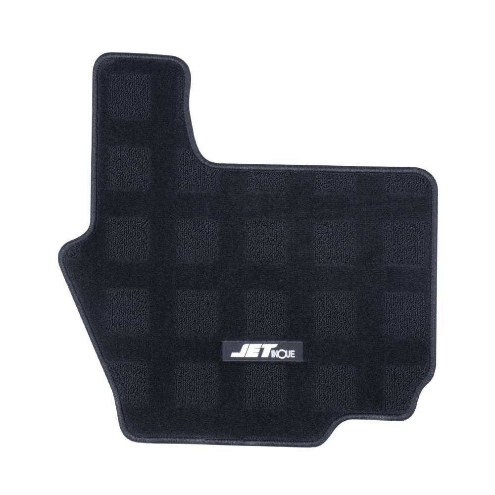 JET 車種専用フロアマット 本物◆ 運転席用 ベストワンファイター標準 新色追加して再販 523123 スーパーブラック