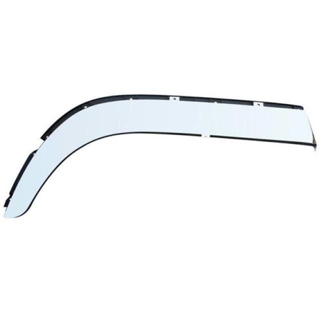 JET フェンダーゴムステンレスカバー ※高さ15cm ●鏡面タイプ ふそう大型 NEWスーパーグレート(H8.6~H29.4)用 L/R [572354]