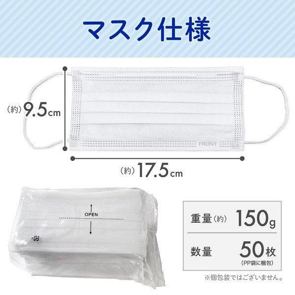 コロナ補助金対象 在庫有り 即納 不織布マスク 10000枚 3層 PPE/CE規格適合 高品質