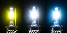HID FOG LIGHT STSTEM EXCEED 23W SERIES ショートバルブ 4000K yellow