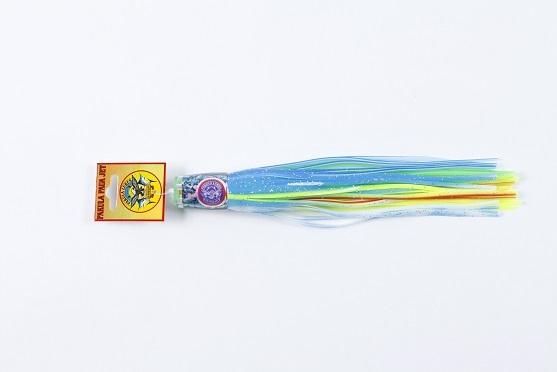 パウア スプロケットジェットのミディアムサイズです ベイトが小さいシーズン初めの時期や喰いが悪い時に効果的です パクラ お見舞い ミディアムスプロケットジェット ふるさと割 マグネットグリーンリグ付き