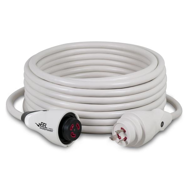 マリンコ陸電ケーブル EEL30Aケーブルセット15m ホワイト