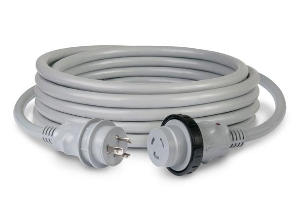 マリンコ陸電ケーブルセット15m30A 125V [10305047 (199119G)]