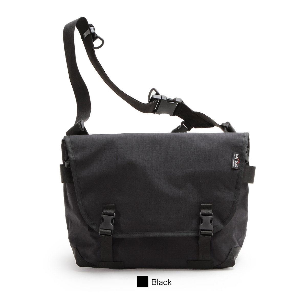 【正規販売店】バッグジャック メッセンジャーバッグ ショルダーバッグ ブラッククラシック bagjack Pogo messenger