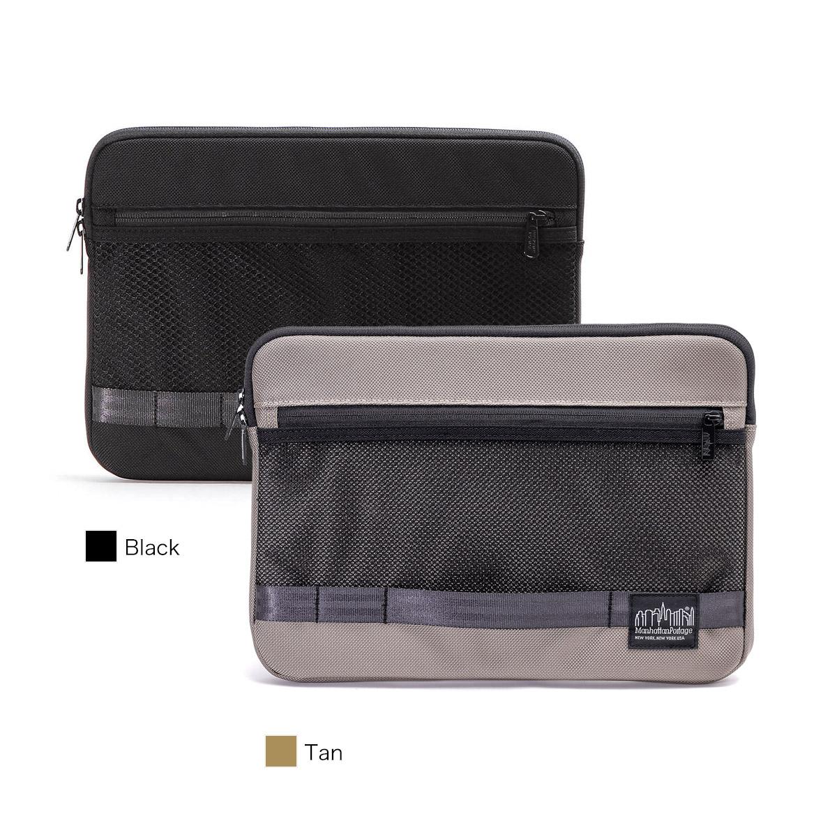 【正規販売店】マンハッタンポーテージブラックレーベル PCケース クラッチバッグ FIDI SLEEVE Manhattan Portage BLACK LABEL MP1063BL