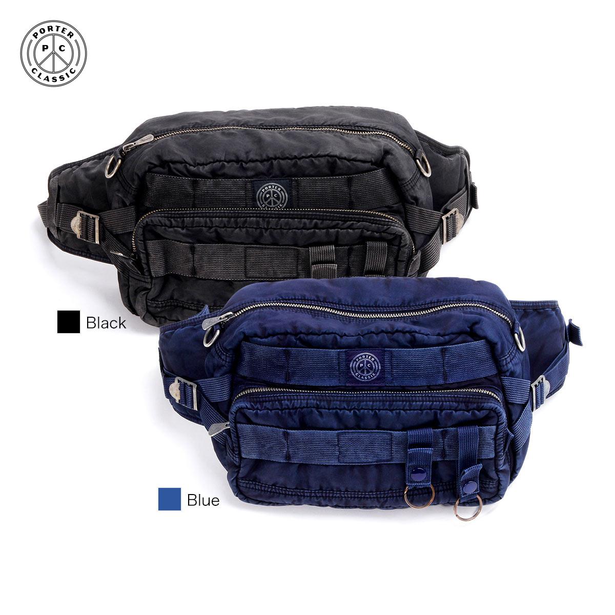 【正規販売店】ポータークラシック ボディバッグ スーパーナイロン WAIST BAG SUPER NYLON Porter Classic 015-272