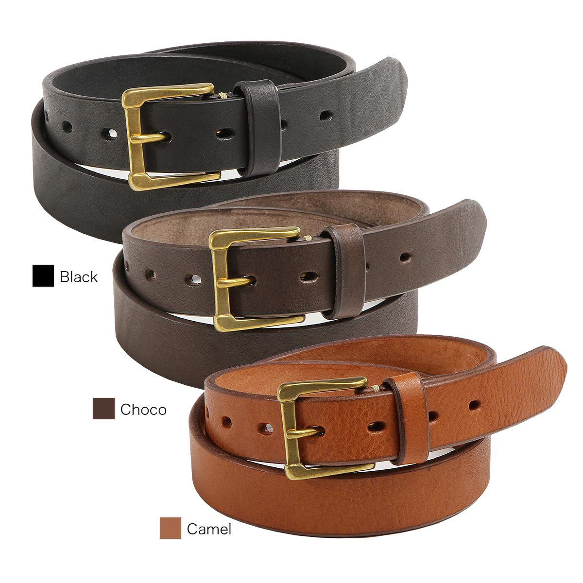 【正規販売店】スロウ ベルト S plain belt -tochigileather 30mm belt- SLOW HS23E-Ssize