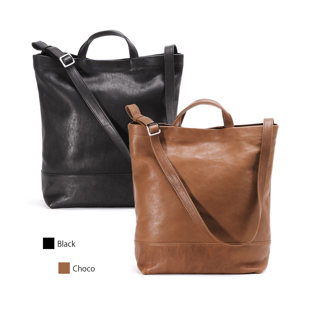 【正規販売店】スロウ 2WAY トート-バッグ 栃木レザー ショルダー fino 2way tote bag SLOW 49S164H