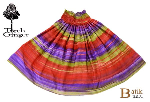 フラダンス パウスカート フラダンス衣装 スカート パウ BT-BH-B バティックパウ ベリー シングルパウ
