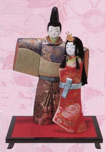 東芸 木目込人形キット「立ちひな・彩華」 K308-15 手作り キット 雛人形 桃の節句