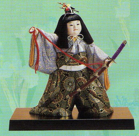 東芸 木目込人形キット「五月・誉太刀」 K076-11
