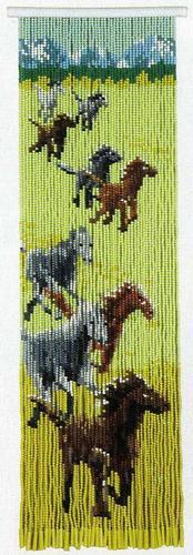 スキルタペストリーキットT371「九頭馬」 2014年(平成26年) 午年
