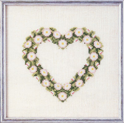 輸入キット Love Tree 刺繍 【メール便可】 (愛の木) クロスステッチ (オーベン) Oben