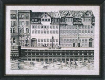監督和評價辦公室十字繡繡套件 99160 / 99161 單色市現場丹麥刺繡製造商 ohrenschleager (O.Oehlenschlägers 方式。 / Oehlenschlager) 製shi 繡花套件