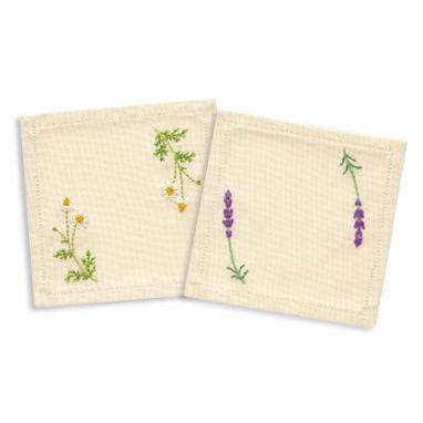 奧林巴斯法國繡花套件 9030 (杯墊) 藥草親愛的花園我甜蜜的花園棉花的青木和子法國繡花套件