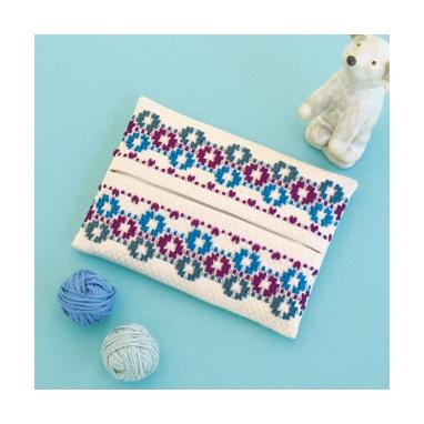 Torii Olympus Sweden Embroidery Kits Sw 12 Tissue Case Purple