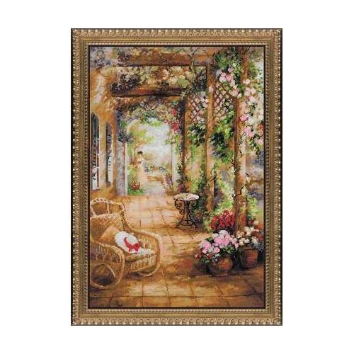 RIOLISクロスステッチ刺繍キット No.100/043 「A Secret Romance」 (シークレット・ロマンス)【海外取り寄せ/納期30~60日程度】