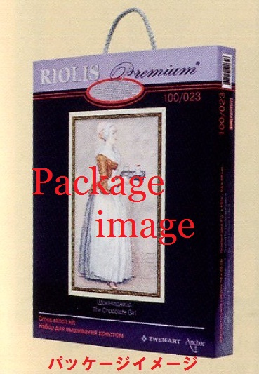 RIOLISクロスステッチ刺繍キット No.100-027 「The Velvet Evening」 (ベルベット イブニング) ロシアの刺しゅうメーカー「リオリス」製ししゅうキット