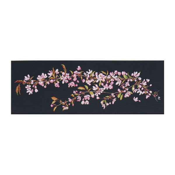 "Thea Gouverneur十字花刺绣刺绣配套元件No.481""Japanese Blossom""(日本的樱花)有孔玻璃珠shisyu orandatea·guverunuru"