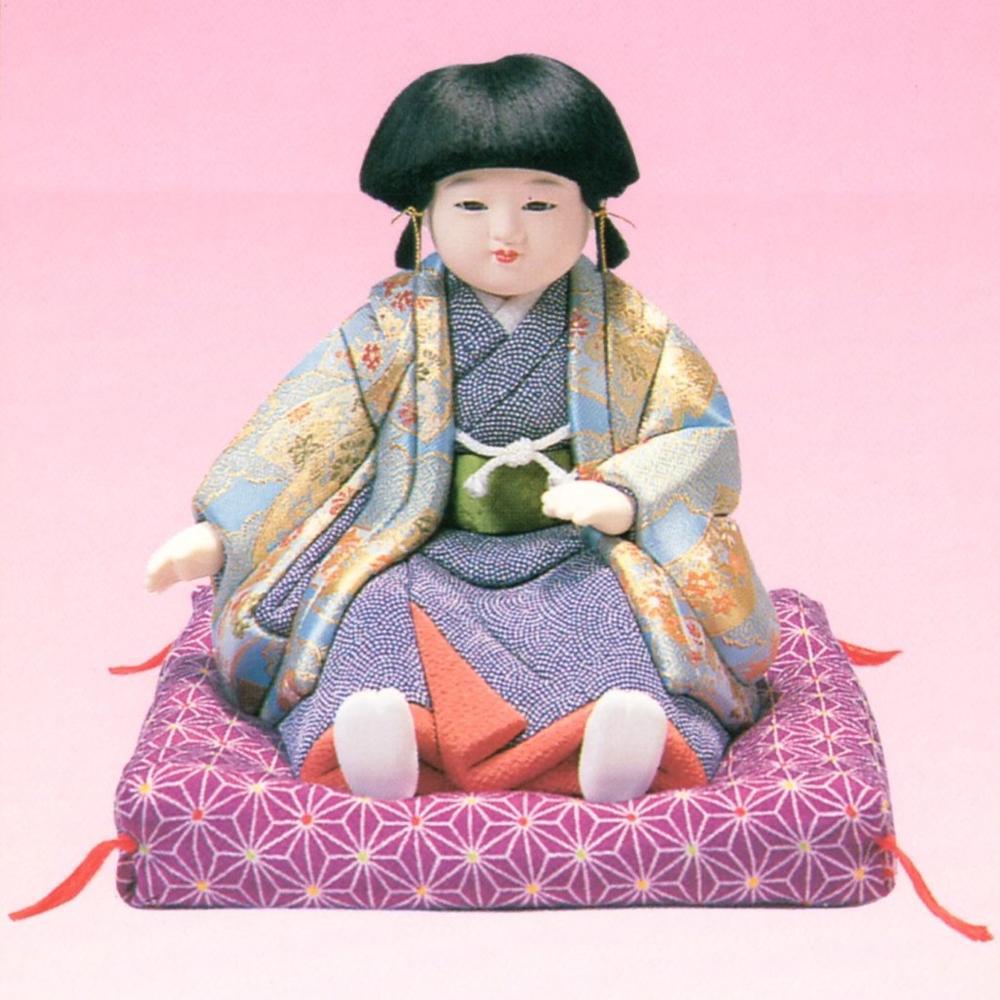 東芸 木目込人形キット「すわり市松 (男)」 H295-13