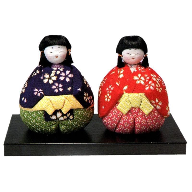 東芸 木目込人形キット「鈴ひな」 H301-02 手作り キット 雛人形 桃の節句