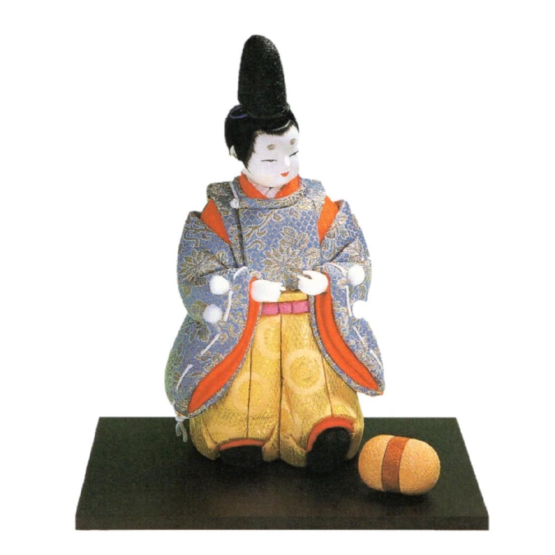 東芸 木目込人形キット「平安童子・御所のけまり」 K205-13