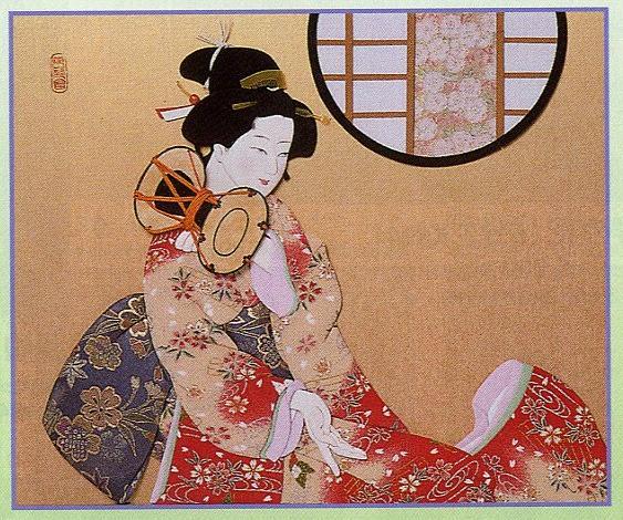 東芸押し絵キット S8945「鼓の音」 押絵キット(8号)