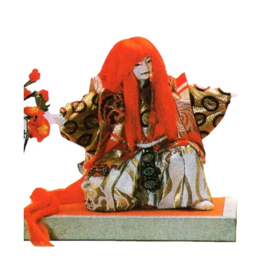 東芸 木目込人形キット「特製・鏡獅子(赤)」 S049-11 歌舞伎