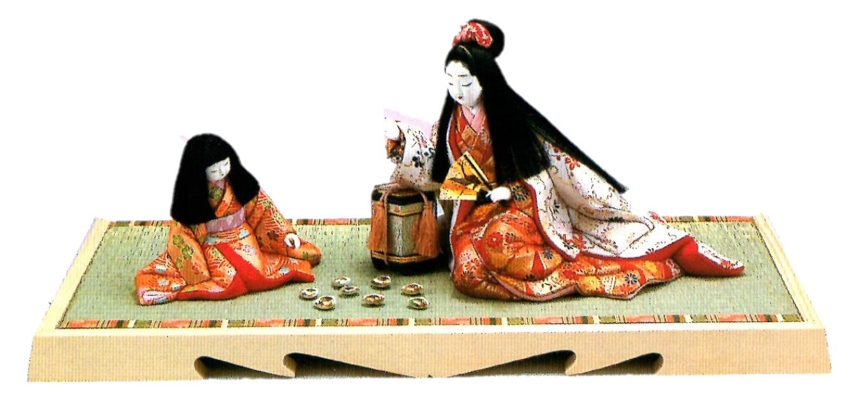 東芸 木目込人形キット「貝遊び」 S242-12