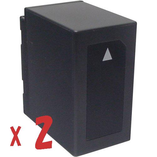 送料無料【2個セット】パナソニック VW-VBD55/VW-VBD58互換バッテリーの2個セットPanasonic HDC-Z10000/AJ-PX270対応