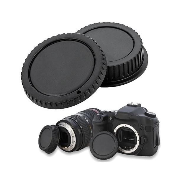送料無料 軽量 取り付けて安心 初回限定 人気の普及型定形外郵便配送 定形外 EFマウントレンズ用リアキャップとEOSカメラボディ用キャップの2個セット おトク canon用 キャノン