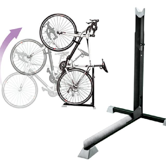 評判 送料無料 後輪を置いて立てかければ簡単に固定できます 保証付き B106 自転車スタンド お値打ち価格で 1台用 ベランダ設置 室内置きにも L字型 ディスプレイに 自転車ラック 便利でオシャレ自転車の収納 自転車の保管 コンパクト簡単設置 組み立て簡単 省スペース保菅 縦置きスタンド