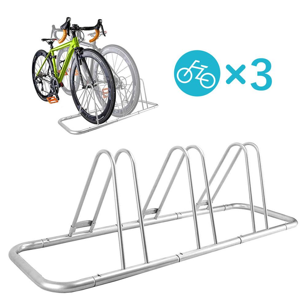 送料無料 ホイールを差し込むだけで簡単に固定 3台を省スペース保管 保証付き B118 3台用自転車スタンド NinoLite 直角 又は 斜め収納でスペース節約 自転車の多い方 テレビで話題 サイクルラック サイクルパーキングラック 会社用 自転車ラック 1台 ラッピング無料 店舗用にも大活躍 駐輪ラック 3台タイプ バイクスタンド 2台用にもアレンジ可能