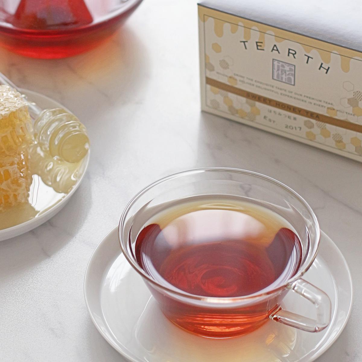 プレゼントにも最適 甘くて美味しいはちみつ紅茶 送料無料 はちみつ紅茶 2gx25包x1箱 蜂蜜紅茶 紅茶 無料 ギフト 手土産 激安 お買い得 キ゛フト ティーアース 上品な蜂蜜の甘みがやみつきに プレゼント は外資系ホテル御用達の高級茶葉ブランドです にも最適 TEARTH ティーバッグ