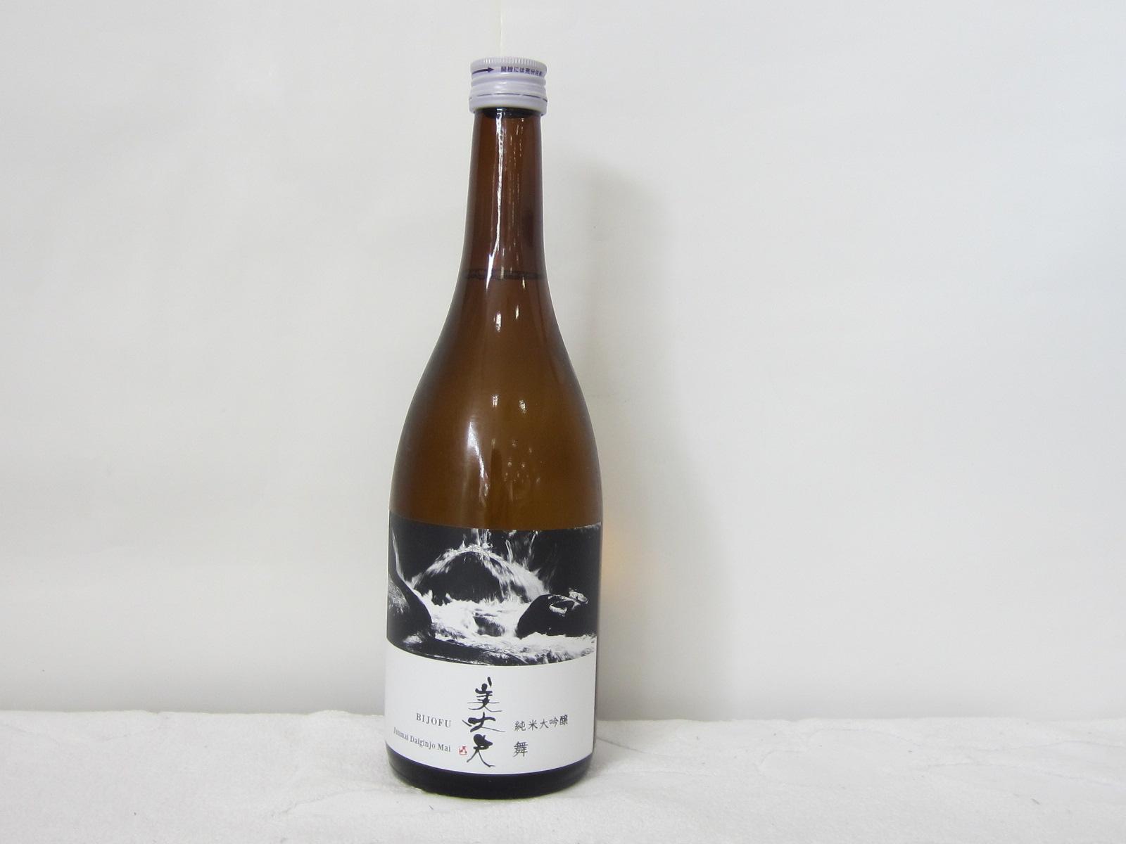 日本酒 在庫限り 土佐 AL完売しました。 高知酒造好適米 松山三井のうち粒の大きいものを選別したものがしずく媛 選りすぐりの原料から醸し出す至極の逸品 美丈夫 しずく媛 純米大吟醸酒 舞 720ml 高知