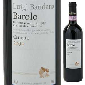 【6本~送料無料】バローロ チェレッタ 2010 ルイージ バウダーナ 750ml [赤]Barolo Ceretta Luigi Baudana