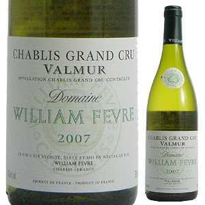 【6本~送料無料】シャブリ グランクリュ ヴァルミュール 2018 ウィリアム フェーヴル(ドメーヌ) 750ml [白]Chablis Grand Cru Valmur Domaine William Fevre